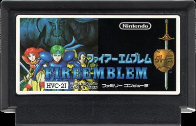 Fire Emblem Gaiden - Cart - Front