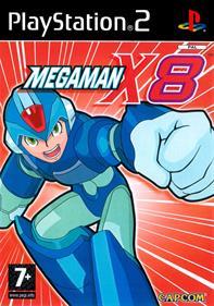 Mega Man X8 - Box - Front