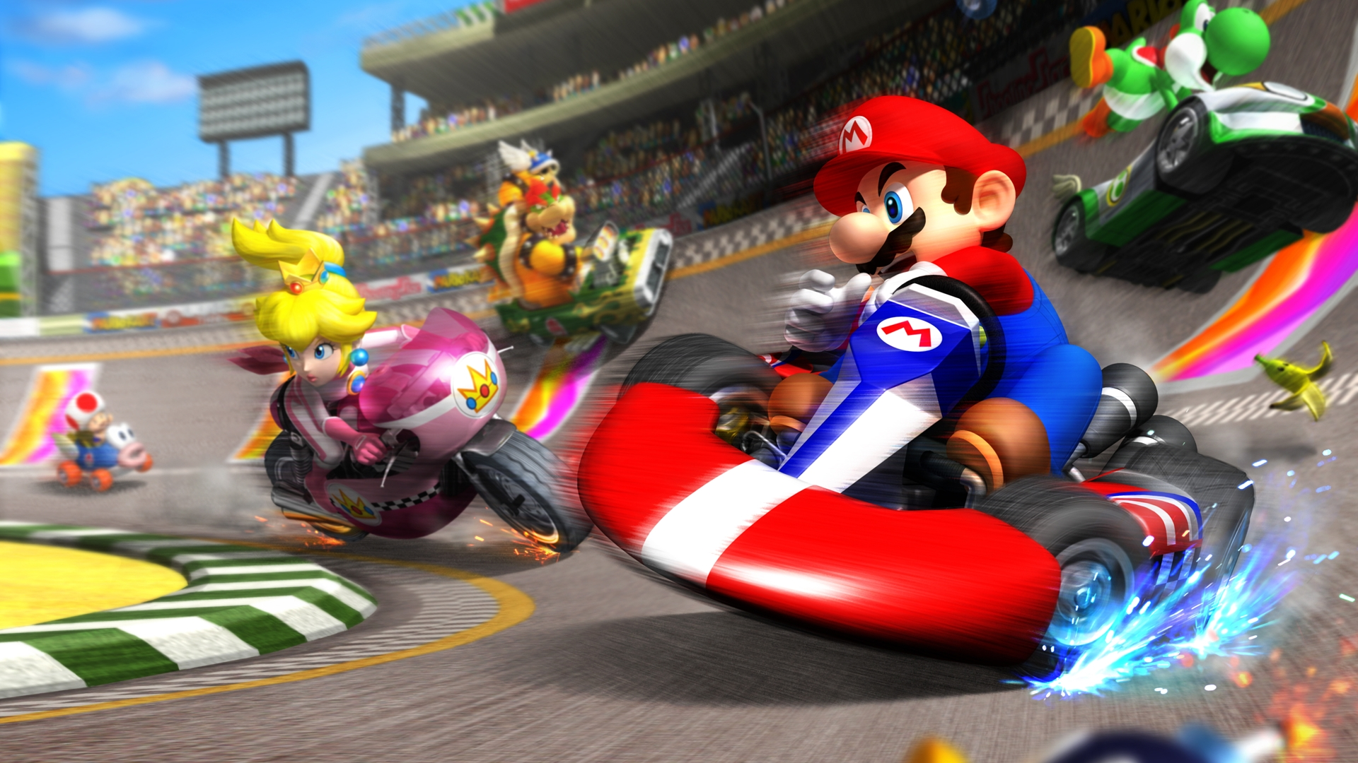 Image result for Mario kart ds 1920x1080