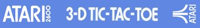 3-D Tic-Tac-Toe - Banner
