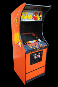 The Adventures of Robby Roto! - Arcade - Cabinet