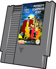 The Addams Family: Pugsley's Scavenger Hunt - Cart - 3D