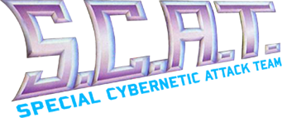 S.C.A.T.: Special Cybernetic Attack Team - Clear Logo