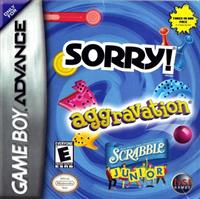 3 Game Pack!: Sorry! / Aggravation / Scrabble Junior