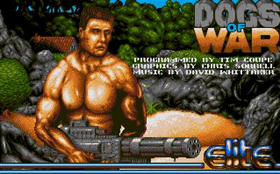 Dogs of War - Screenshot - Game Title
