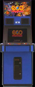 Eco Fighters - Arcade - Cabinet