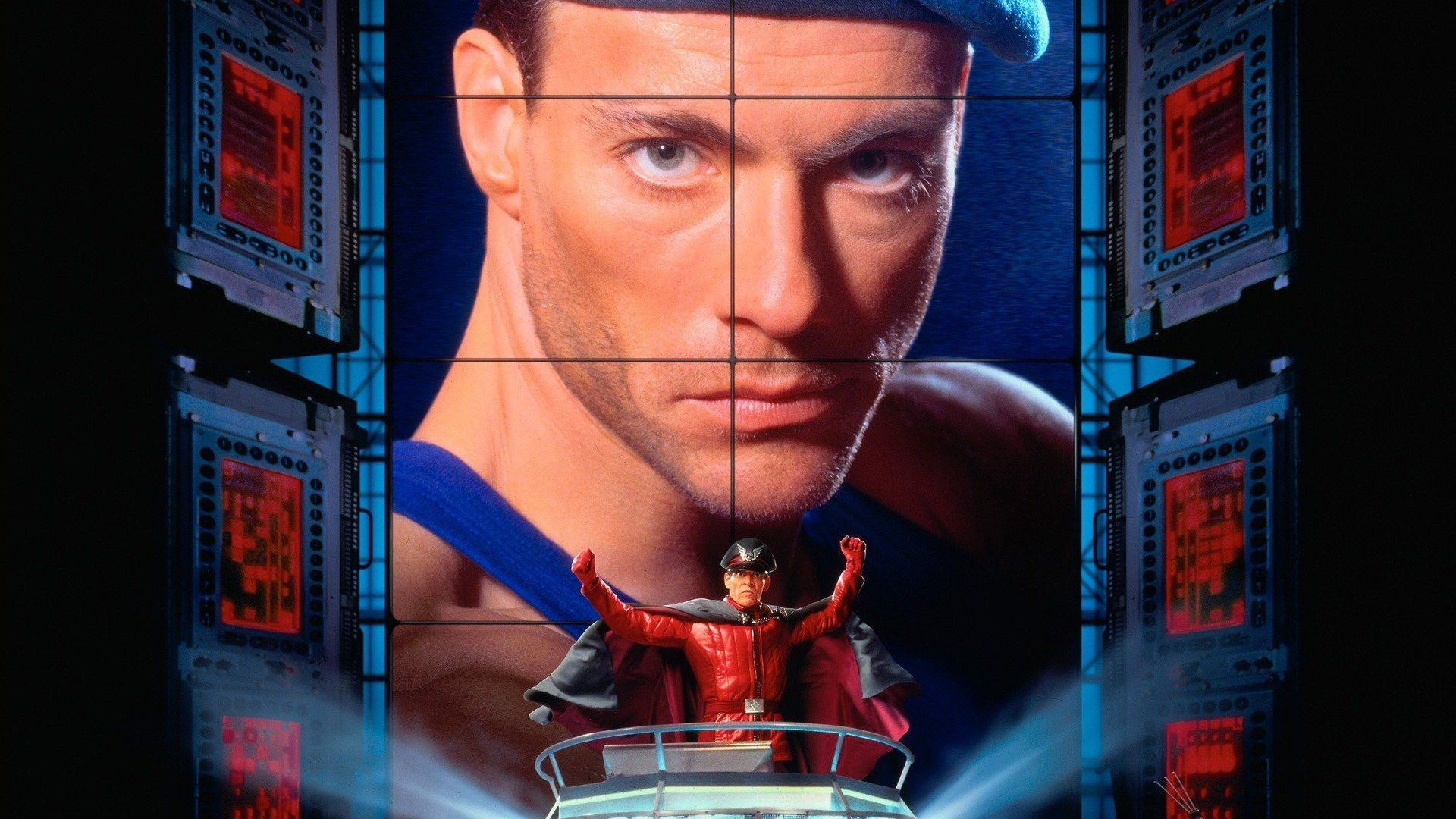 street fighter 1994 movie poster