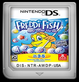 Freddi Fish: ABC Under the Sea - Fanart - Cart - Front