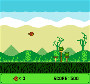 Angry Birds - Screenshot - Gameplay