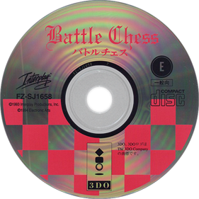 Battle Chess - Disc