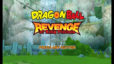 Dragon Ball: Revenge of King Piccolo - Screenshot - Game Title