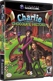 Charlie and the Chocolate Factory - Box - 3D