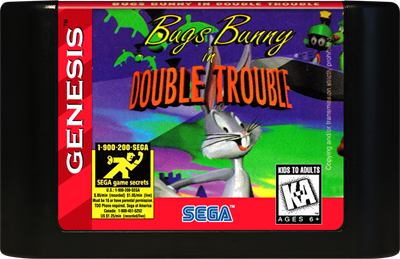 Bugs Bunny in Double Trouble - Cart - Front