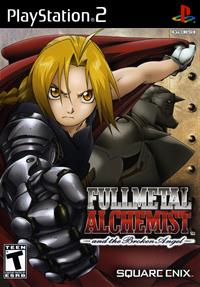 Fullmetal Alchemist and the Broken Angel - Box - Front