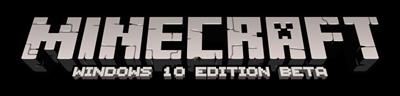 Minecraft: Windows 10 Edition - Clear Logo