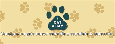 1 Cat a Day - Banner