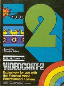 Videocart-2: Desert Fox & Shooting Gallery