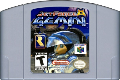Jet Force Gemini - Cart - Front