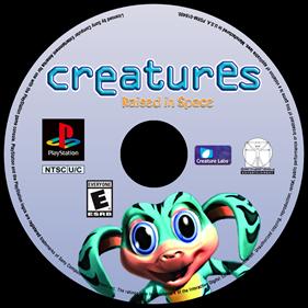 Creatures: Raised in Space - Fanart - Disc