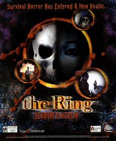The Ring: Terror's Realm - Advertisement Flyer - Front