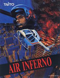Air Inferno - Advertisement Flyer - Front