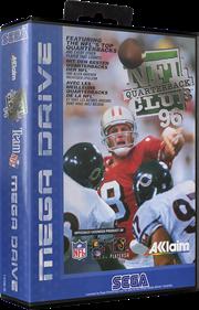 NFL Quarterback Club 96 - Box - 3D