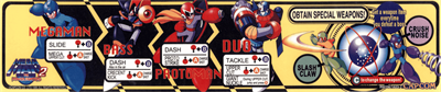 Mega Man 2: The Power Fighters - Arcade - Controls Information