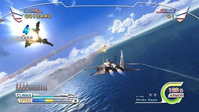 After Burner Climax - Screenshot - Gameplay