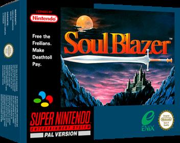 Soul Blazer - Box - 3D