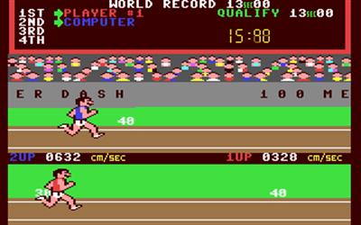 Track & Field - Screenshot - Gameplay