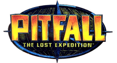 Pitfall: The Lost Expedition - Clear Logo