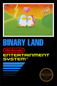 Binary Land - Fanart - Box - Front