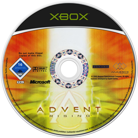 Advent Rising - Disc