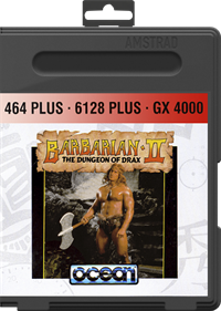 Barbarian II: The Dungeon of Drax - Box - Front - Reconstructed