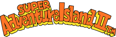 Super Adventure Island II - Clear Logo