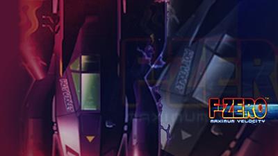 F-Zero: Maximum Velocity - Fanart - Background