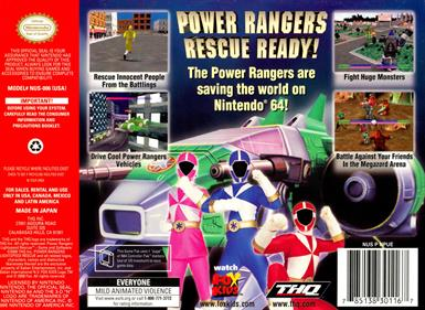 Power Rangers: Lightspeed Rescue - Box - Back