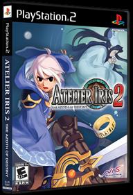 Atelier Iris 2: The Azoth of Destiny - Box - 3D