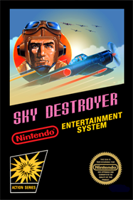 Sky Destroyer - Fanart - Box - Front