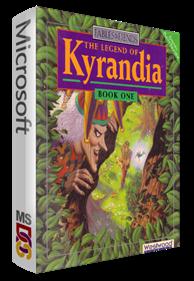 The Legend of Kyrandia: Book One - Box - 3D