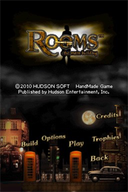 Rooms: The Main Building - Screenshot - Game Title