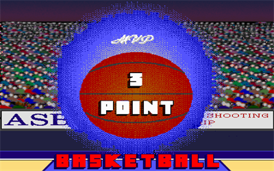 3 Point Basketball - Screenshot - Game Title