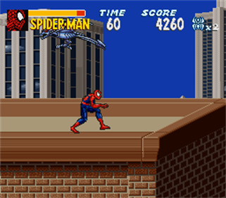 The Amazing Spider-Man: Lethal Foes - Screenshot - Gameplay