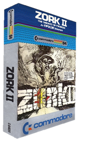 Zork II: The Wizard of Frobozz - Box - 3D