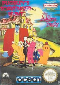 The Addams Family: Pugsley's Scavenger Hunt - Box - Front