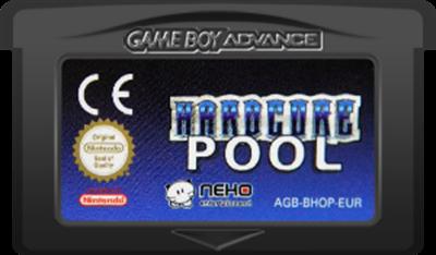 Hardcore Pool - Fanart - Cart - Front