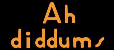 Ah Diddums - Clear Logo