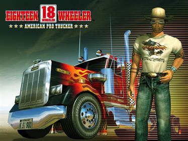18 Wheeler: American Pro Trucker - Fanart - Background