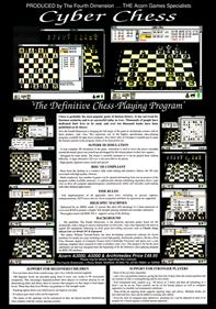 Cyber Chess - Advertisement Flyer - Front