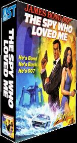 James Bond 007: The Spy Who Loved Me - Box - 3D